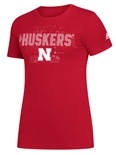 Adidas Huskers Womens ReIssue Tee