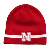 Adidas Nebraska 2020 Coaches Beanie - Red