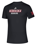 Adidas 2020 Nebraska Huskers Locker Chromed Tee