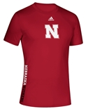 Adidas 2020 Nebraska Huskers Locker Side By Side Tee