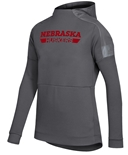 Adidas Womens Game Mode Huskers Hoodie