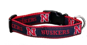 Huskers Dog Collar