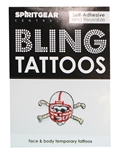 Bling Blackshirt Face Decal