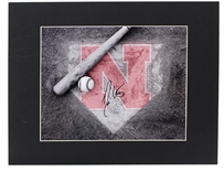 Darin Erstad Autographed Home Plate Photo