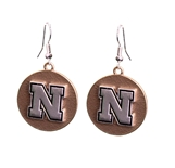 Gold N Silver Husker Earrings
