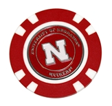 Nebraska Logo Golf Ball Marker