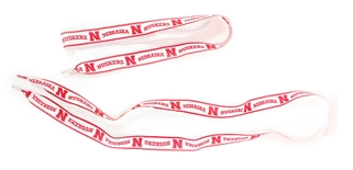 Husker Ribbon Shoelaces
