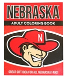 Huskers Adult Coloring Book