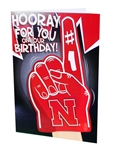 Huskers Birthday Card