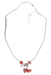 Huskers Charm Necklace