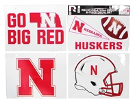 Huskers Movable Wall Decor Set