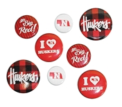 Huskers Multi-Pack Button Set