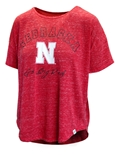 Ladies Nebraska Huskers Sheldon Tee