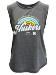 Lady Huskers Sunrise Muscle Tank