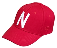 Memory Fit Skinny N Huskers Hat - Red