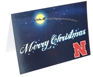 Nebrask Ho Ho Ho Christmas Card