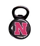 Nebraska Bottle Opener Memo Clip