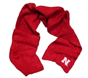 Nebraska Cable Knit Scarf