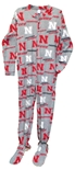 Nebraska Cornhuskers Adult Fleece Onesie