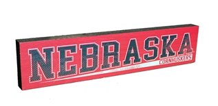 Nebraska Cornhuskers Shelf Stick