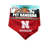Nebraska Dog Collar Bandana