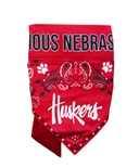 Nebraska Fan Pet Bandana