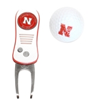 Nebraska Golf Ball Tool Tin Set