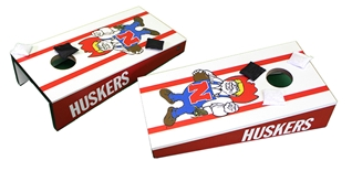 Nebraska Herbie Desktop Cornhole Game