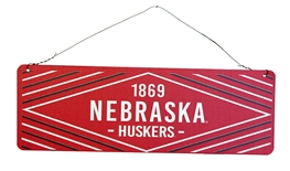 Nebraska Huskers 1869 Sign
