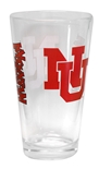 Nebraska Huskers Game Day Pint Glass