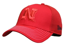 Nebraska New Era Fitted Meshback Trucker