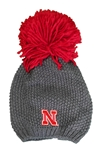 Nebraska Rally Big Pom Beanie