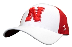 Nebraska Red N White Zfit Cap