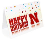 Nebraska Star Birthday Card