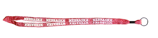 Nebraska Sweater Lanyard