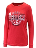 Nebraska Volleyball 2021 Schedule LS Tee (Unisex)