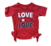 Toddler Girls Love N Bossy Boots Tee