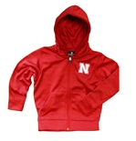 Toddler Nebraska Gary Full Zip Hood
