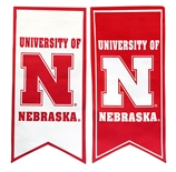 University of Nebraska Banner Flag