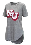 Womens Grey Knobi Rounded Tee Pressbox