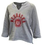 Womens Huskers Champ Remix Sweat
