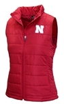 Womens Huskers Packable In-Tote Vest