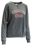 Womens Nebraska Huskers Burnout Crew