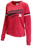 Womens Nebraska Scoop Neck Sweatshirt