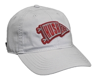 Womens Silver Huskers Pennant Hat