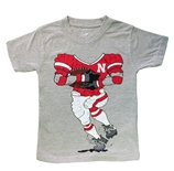 Young Fellas Nebraska Football Player Tee