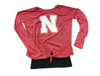 Youth Girls Nebraska MermaLair LS Tee