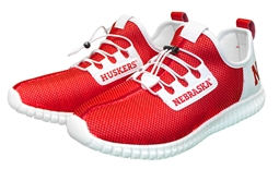 Youth Huskers LED Light Up  Shoe