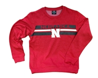 Youth Huskers Pirate Crewneck