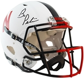 Bo Pelini Autographed Unrivaled Authentic Full Size Helmet